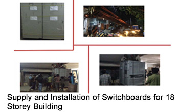 Supply and Installation of Switchboards for 18 Storey BuildingSupply and Installation of 250kVA Transformer for MIC OUR MO