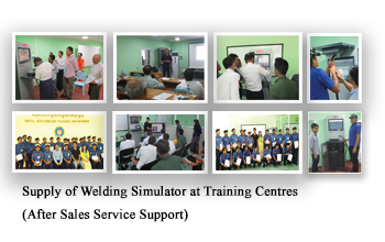 Supply of Welding Simulator at Training Centres (After Sales Service Support)